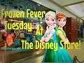 Vlogging at The Disney Store During Limited Edition Frozen Fever Tuesday!✨