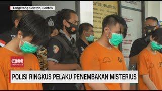 Polisi Ringkus Pelaku Penembakan Misterius di Tangerang Selatan