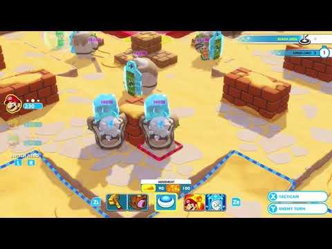 "Mario + Rabbids Kingdom Battle Challenge 2-8 ""STATUE RENDEZVOUS"""