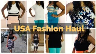 USA shopping haul Part 3 - Fashion haul