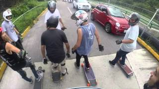 downhill & stuff