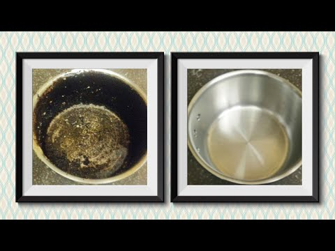 How To Clean A Burnt Stainless Steel Pan