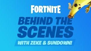 Fortnite - Behind the Scenes with Zeke and Sundown #01