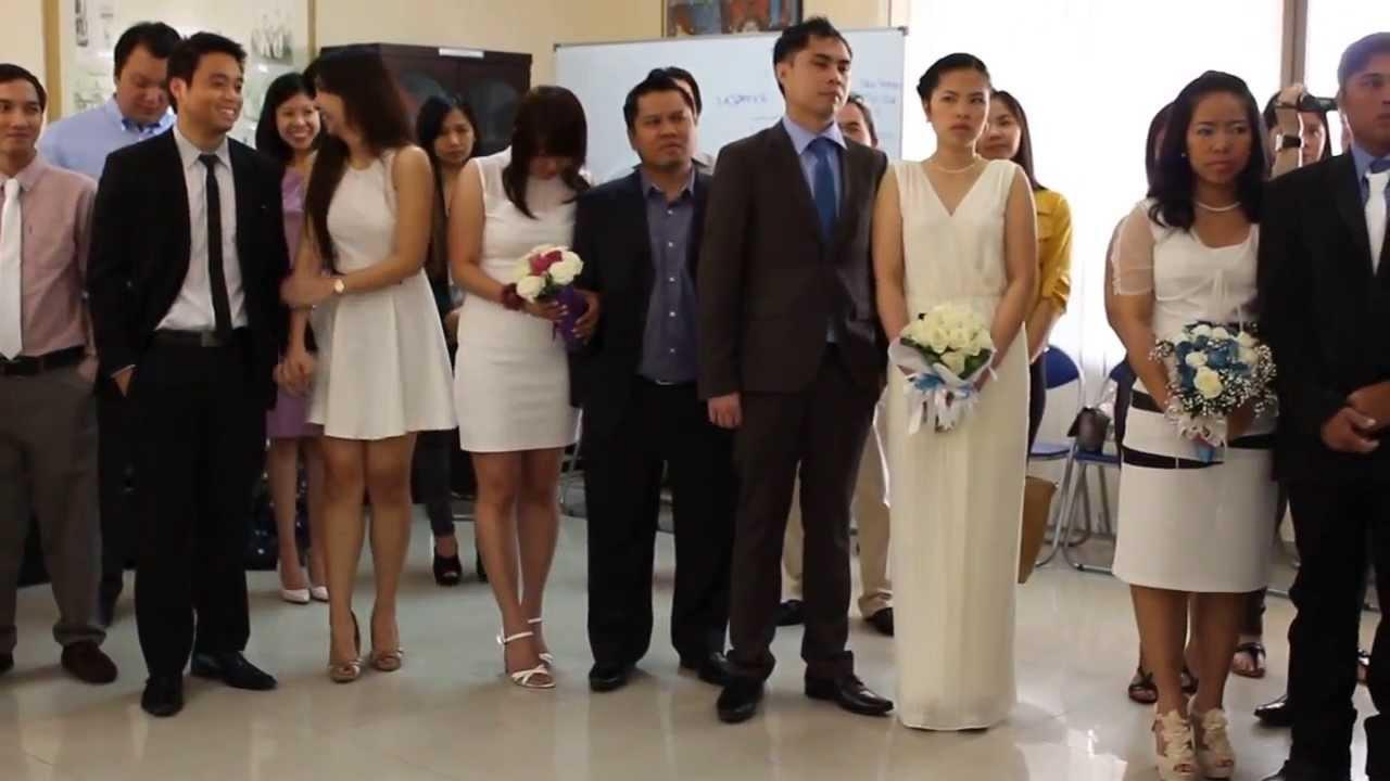 Mark ivy wedding feb 20 2014 phil embassy abu dhabi for Civil wedding dress philippines