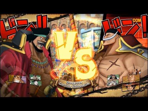 Băng Hải Tặc Râu Đen Đối Đầu Băng Hải Tặc Râu Trắng - One Piece Song Đấu