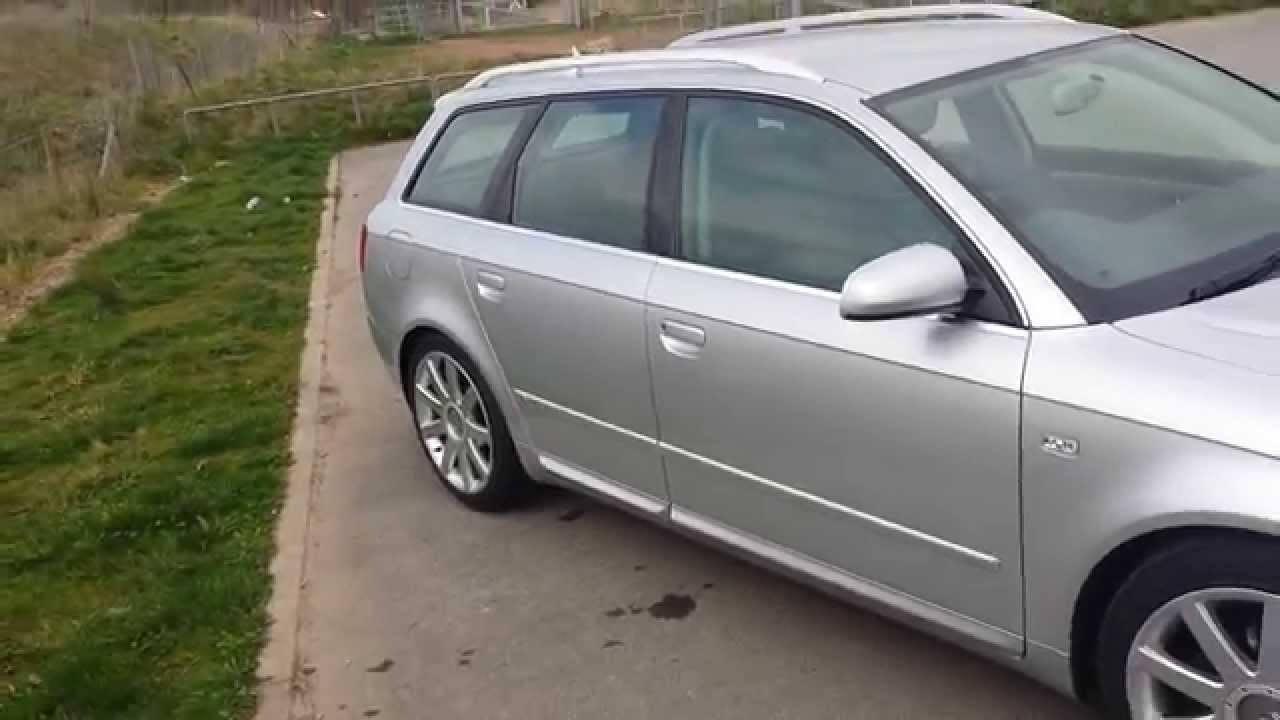 audi a4 b7 avant 2 0 tdi s line 2005 walk around youtube. Black Bedroom Furniture Sets. Home Design Ideas