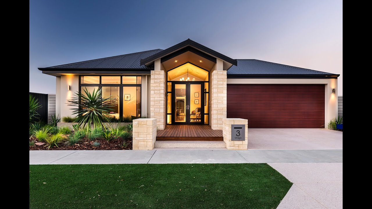 Eden modern new home designs dale alcock homes youtube for New house design photos
