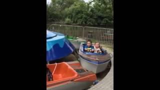 K & B santas village boats 2015