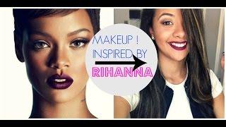 Maquiagem Outono/Inverno - Inspirado na Rihanna