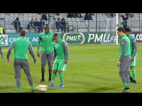 Romain Hamouma ● Florentin Pogba ● Arnaud Nordin ● AJ Auxerre vs AS Saint-Etienne