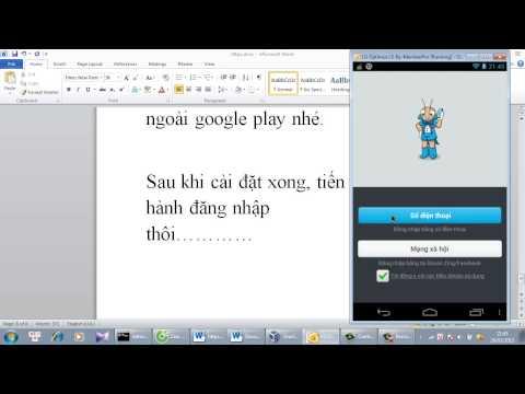 Hướng dẫn cài đặt Zalo trên máy ảo android, khắc phục lỗi đăng nhập 2028
