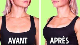 7 Exercices Simples Pour Avoir Une Poitrine Belle et Séduisante