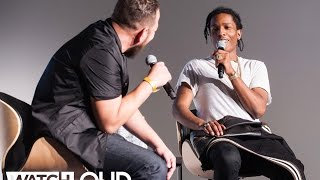 A$AP Rocky On Working With Juicy J and Danger Mouse