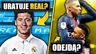 Lewandowski NA RATUNEK! Real MUSI! Neymar, Mbappe, Cavani odejdą z PSG!
