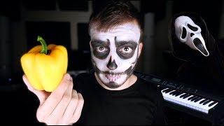 Así se hacen los sonidos de las pelis de TERROR || ft. Ter (Especial Halloween)