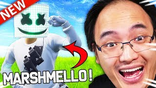 """MARSHMELLO"" IS ARRIVED ON FORTNITE WITH HIS PROPRE SKIN!"