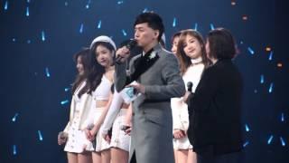 2016.01.24 第11屆KKBOX數位音樂風雲榜 Apink祝賀