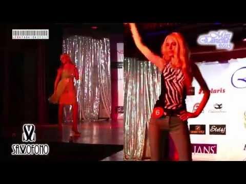 Fashion SASSOFONO in a beauty contest MISS EURASIA-2013, ANTALYA