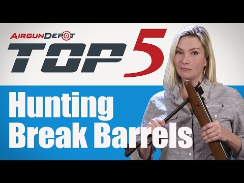 Top 5: Hunting Break Barrels