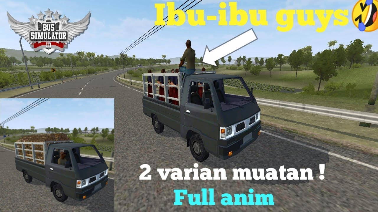 Mod Mobil Toyota Alphard Full Anim Mod Bussid Terbaru Youtube