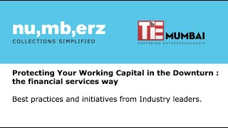 TiE-numberz roundtable on Protecting your working capital in a downturn