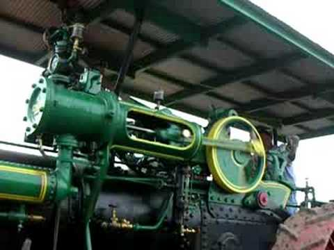 MRVSEA Case Steam Engine Working at the Sawmill Travel Video