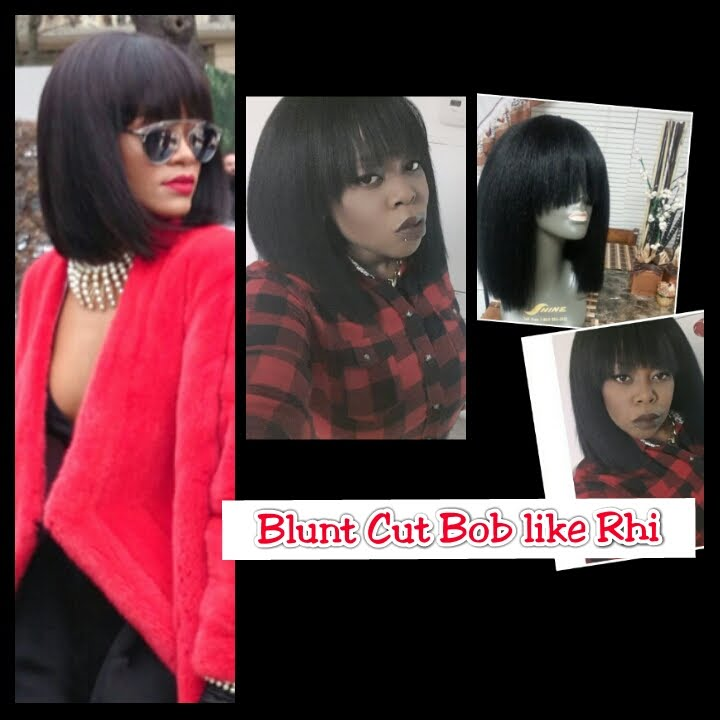 Rhiannas blunt cut bob using 20 kima classic volum hair quickweave rhiannas blunt cut bob using 20 kima classic volum hair quickweave tutorial solutioingenieria
