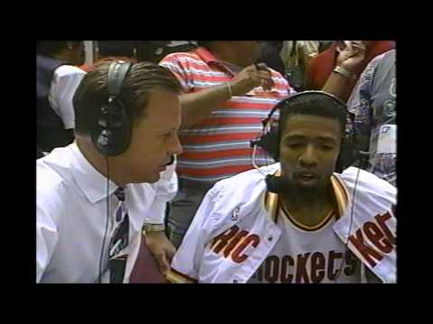 Kenny Smith: Post Game Interview '94 Playoffs Utah/Houston Gm 1