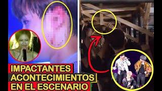 IMPACTANTES ACONTECIMIENTOS EN EL ESCENARIO