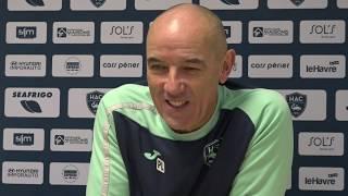 """VIDEO: Avant Rodez - HAC / Paul Le Guen: """"Rester concentré"""""""