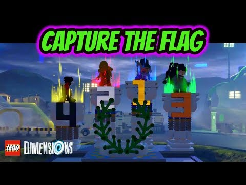 Lego Dimensions | Father And Son - Capture The Flag