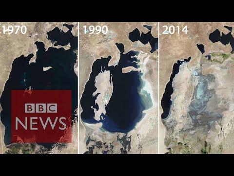 Aral Sea: Man-made environmental disaster - BBC News