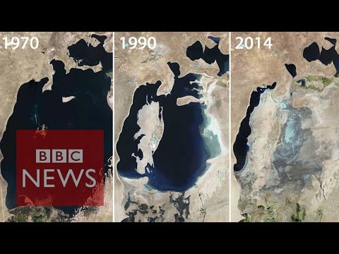 Aral Sea: Man-made environmental disaster - BBC News