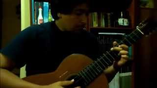 La Concheperla en guitarra (transcripción)