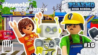 PLAYMO High - Episode 16 | ROBert blows a fuse! | PLAYMOBIL