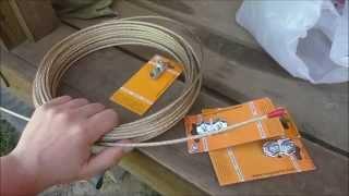 Трос для скважинного насоса(Купил себе трос для скважинного насоса оцинкованный в ПВХ оболочке и крепеж., 2015-05-08T20:01:48.000Z)