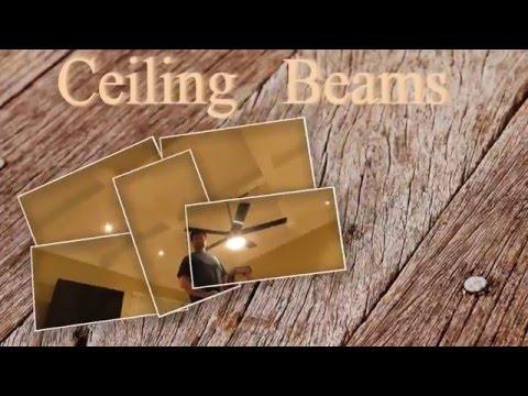 Como hacer vigas de madera para techo vigas decorativas for Como hacer un techo de madera