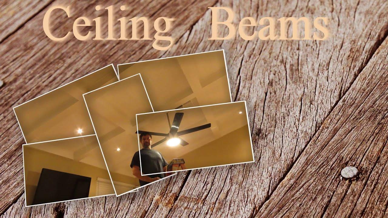 Como hacer vigas de madera para techo- Vigas decorativas - YouTube