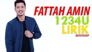 (LIRIK) FATTAH AMIN - 1234U | OST WANITA TERINDAH
