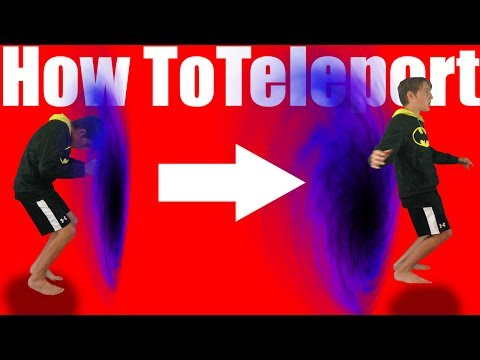 How To Teleport In Real Life Step By Step |60 Second Tutorial|