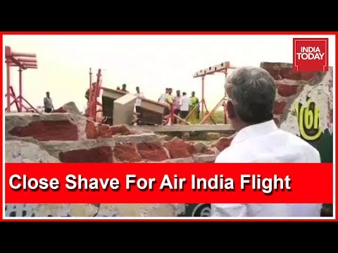 Exclusive | Close Shave For Air India Flight As Wheel Hits Wall During Take-Off