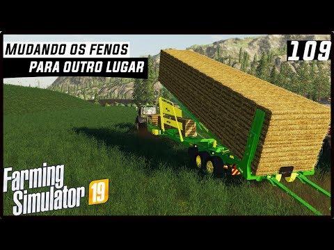 MUDANDO OS FENOS DE LUGAR! | FARMING SIMULATOR 19 #109 [PT-BR] thumbnail