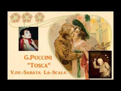 "G.Puccini ""Tosca"" [ M.Callas & V.de-Sabata La-Scala-Milan ] (1953)"