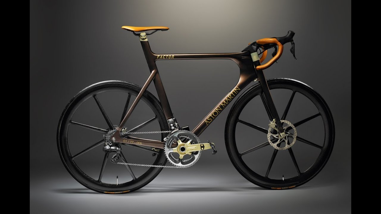 world's most expensive bicycles - £25000 - aston martin one - 77