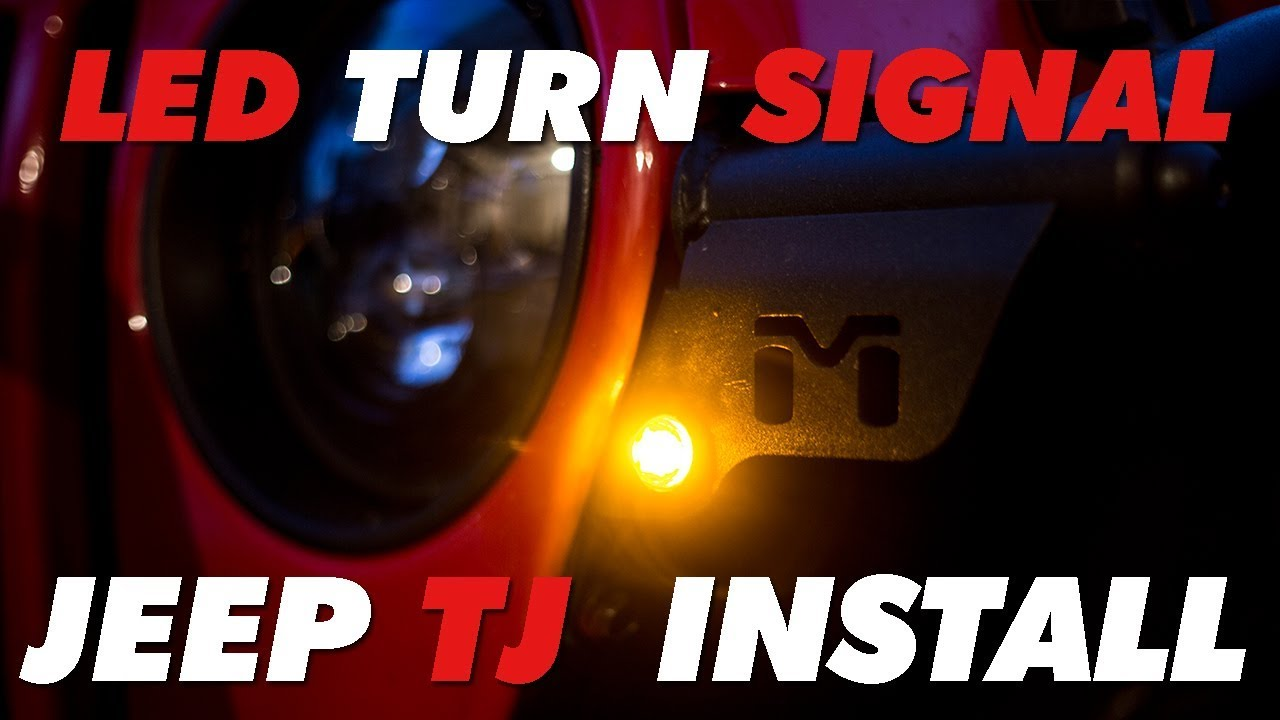 Led Turn Signal Jeep Tj Metalcloak Install Youtube