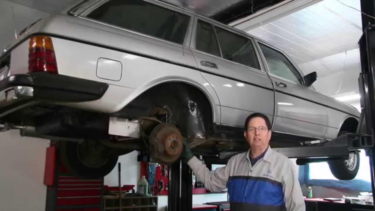 W123 Mercedes 300TD Station Wagon SLS Conversion - Pros ...