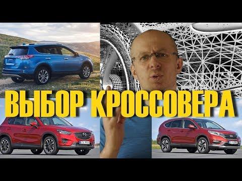 Что купить Кроссоверы Toyota RAV4 Mazda CX 5 Honda CR V