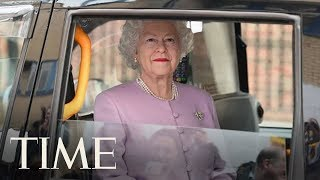 Fake 'Queen Elizabeth' Steals The Show At The Hospital After The Royal Baby's Birth | TIME