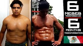 Mi transformación en 6 meses (Calisthenics) / Amazing 6 months transformation (Calisthenics)