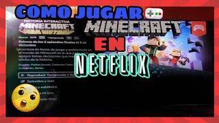 COMO JUGAR MINECRAFT: STORY MODE en NETFLIX (2019) FUNCIONOOOO!!!